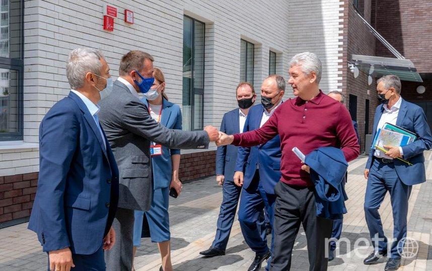 Саблин. Фото пресс-служба мэра и правительства Москвы