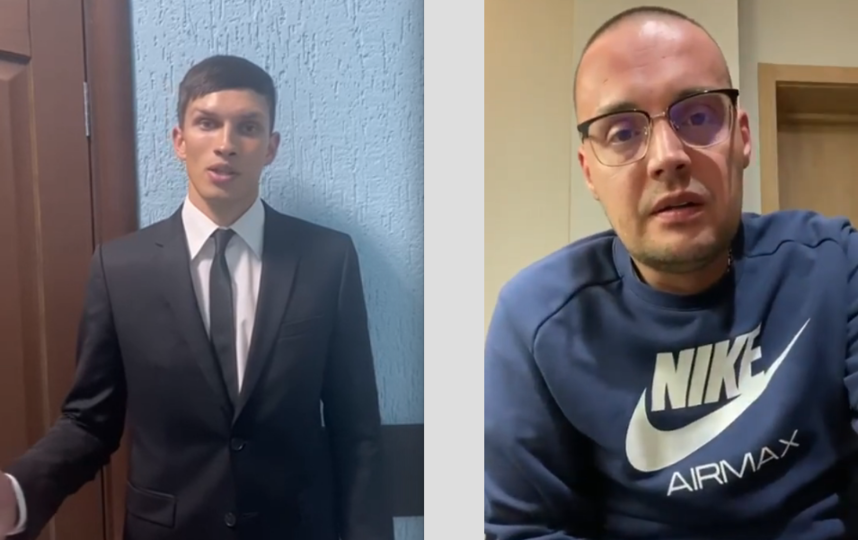 TikTok-блогер и рэпер Guf. Фото Скриншоты: видео ГУ МВД по Петербургу и Ленобласти, Instagram @therealguf