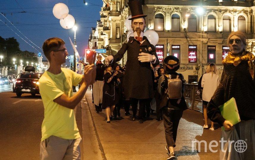 """Писатель был весел и остроумен. Фото Алена Бобрович, """"Metro"""""""