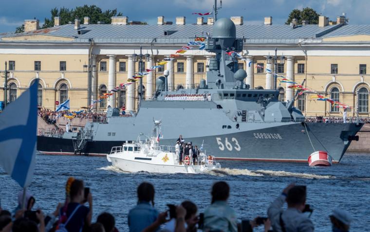 """Военно-морской парад состоится 25 июля. Фото Алена Бобрович, """"Metro"""""""