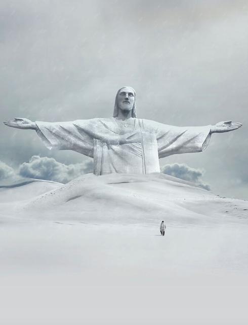 Статуя Христа-Искупителя.