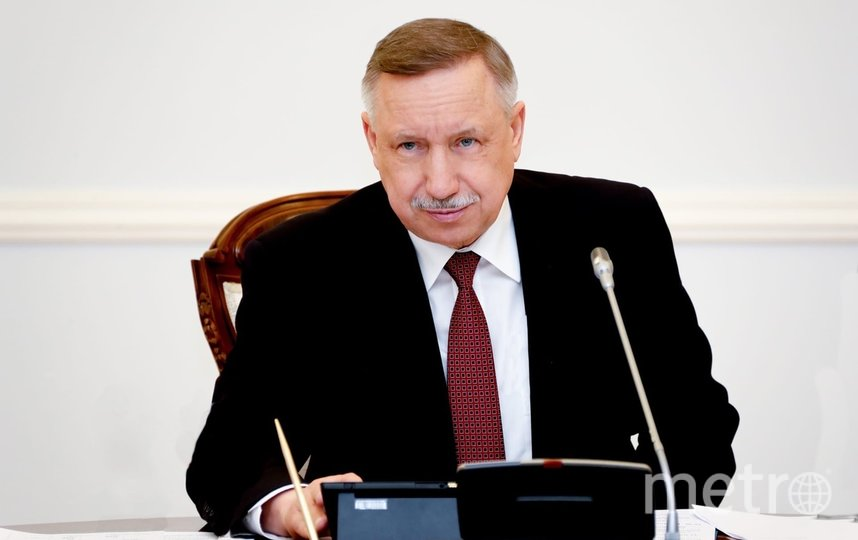Александр Беглов. Фото https://www.gov.spb.ru