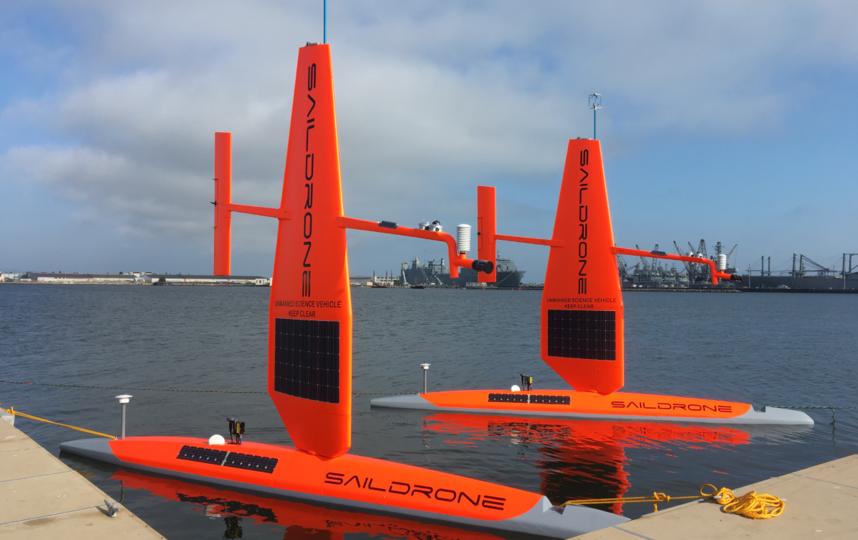 Дроны будут использоваться не только для предотвращения разрушений от ураганов, но и для оценки интенсивности ветров и изменения давления. Фото Saildrone