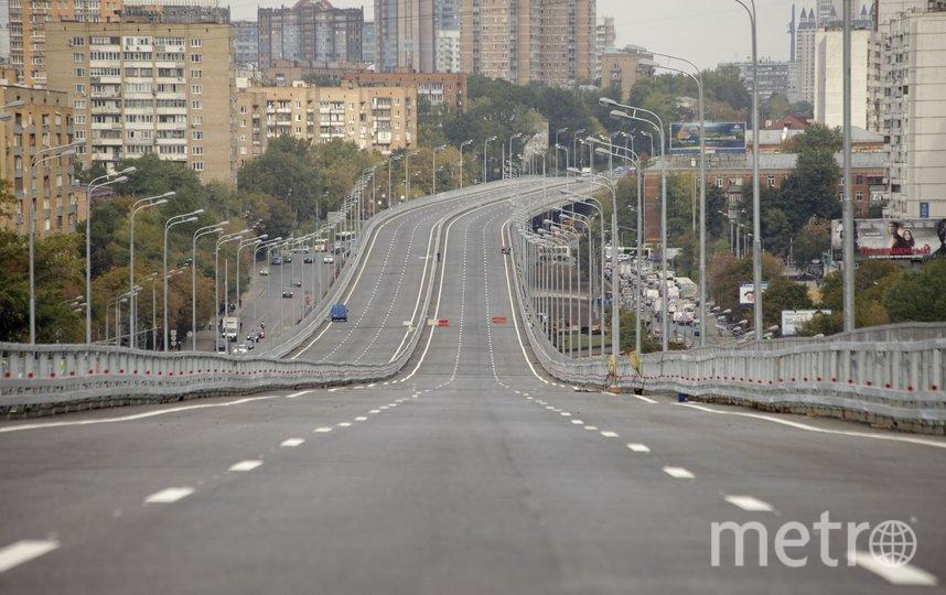 """Можайское шоссе. Фото АГН """"Москва"""""""