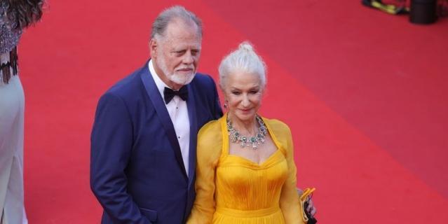 Хелен Миррен с мужем.