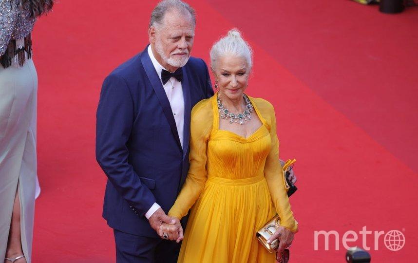 Хелен Миррен с мужем. Фото Getty
