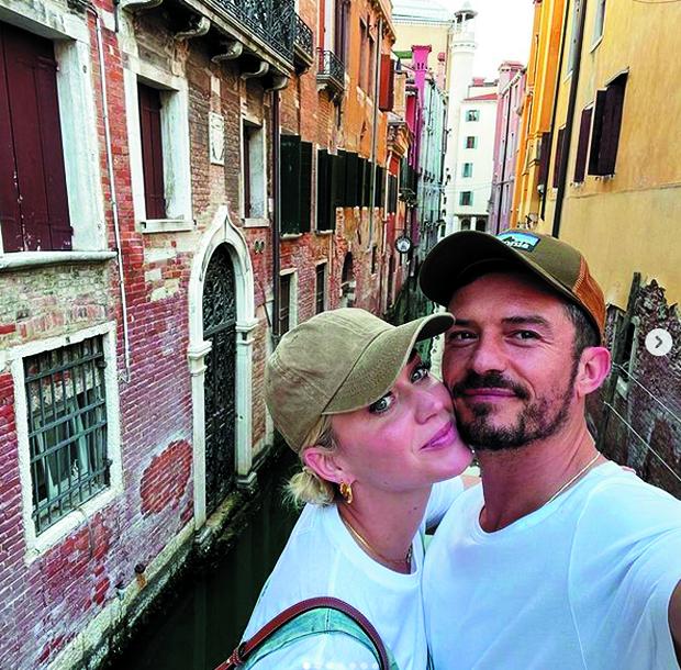 Кэти Перри и Орландо Булм. Фото Скриншот Instagram