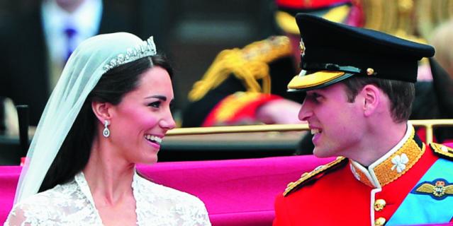 Кейт Миддилтон и принц Уильям.