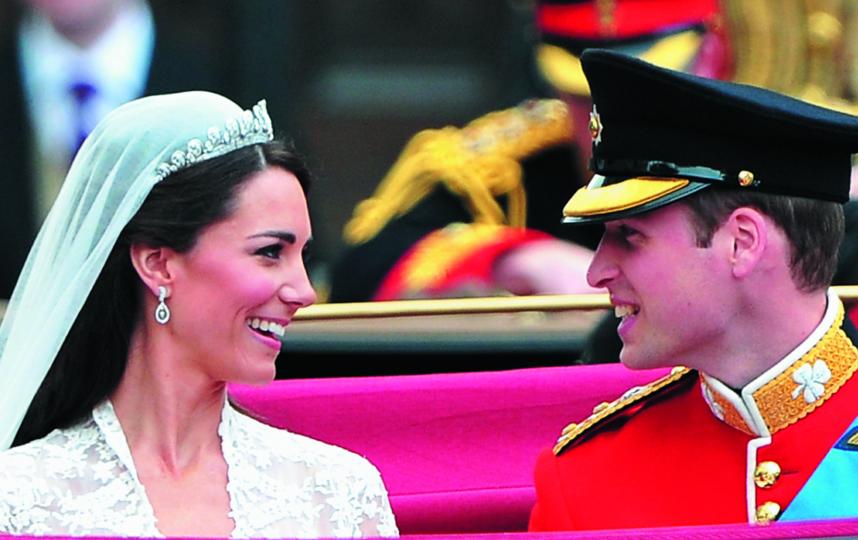 Кейт Миддилтон и принц Уильям. Фото Getty
