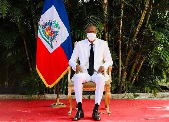 Президент Гаити Жовенель Моиз. Фото Скриншот Instagram @jovenelmoise