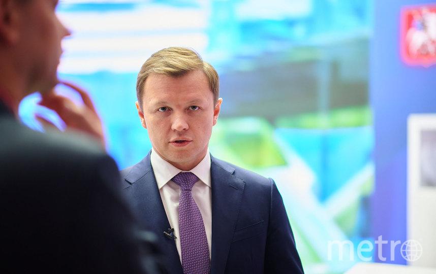 Владимир Ефимов. Фото предоставлено пресс-службой департамента по вопросам экономической политики и имущественно-земельных