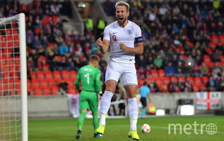 Нападающий сборной Англии Гарри Кейн. Фото Getty