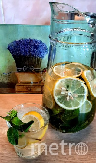 Освежающий лимонад с мятой. Фото Зина Белова
