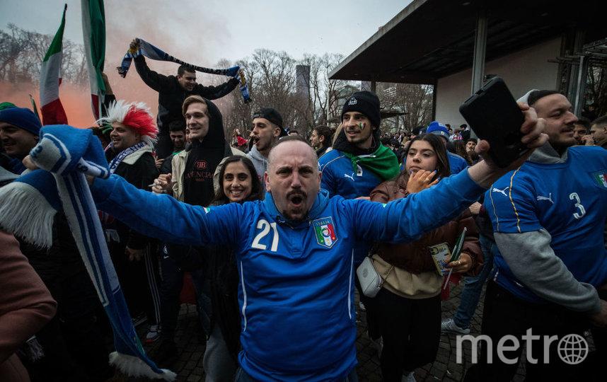 Итальянские болельщики. Фото Getty