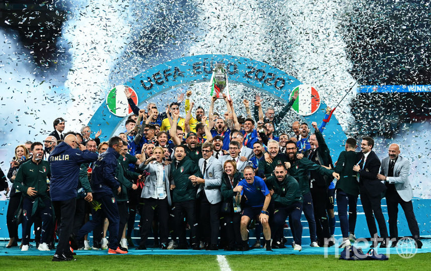 Кубок завоевала сборная Италии. Фото Getty