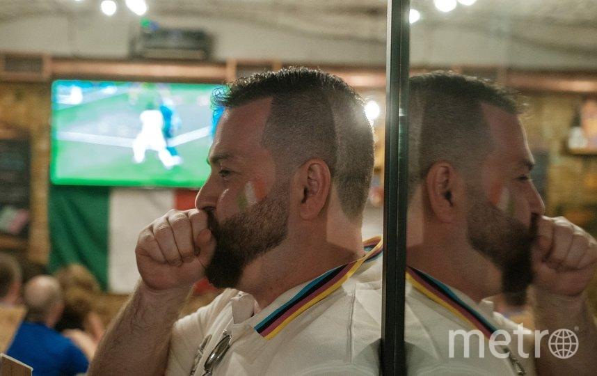 """Итальянцы не сомневались, что их сборная станет победителем ЕВРО-2020. Фото Алена Бобрович, """"Metro"""""""