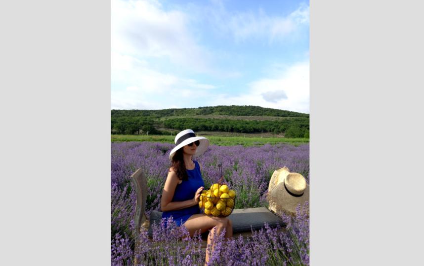 """Реквизит для фотографий хозяева фермы заботливо разместили прямо на поле. Лимоны – настоящие. Фото Назарова Евгения, """"Metro"""""""