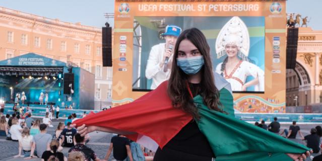 Анна – наполовину итальянка, поэтому в финале чемпионата она болела за своих.