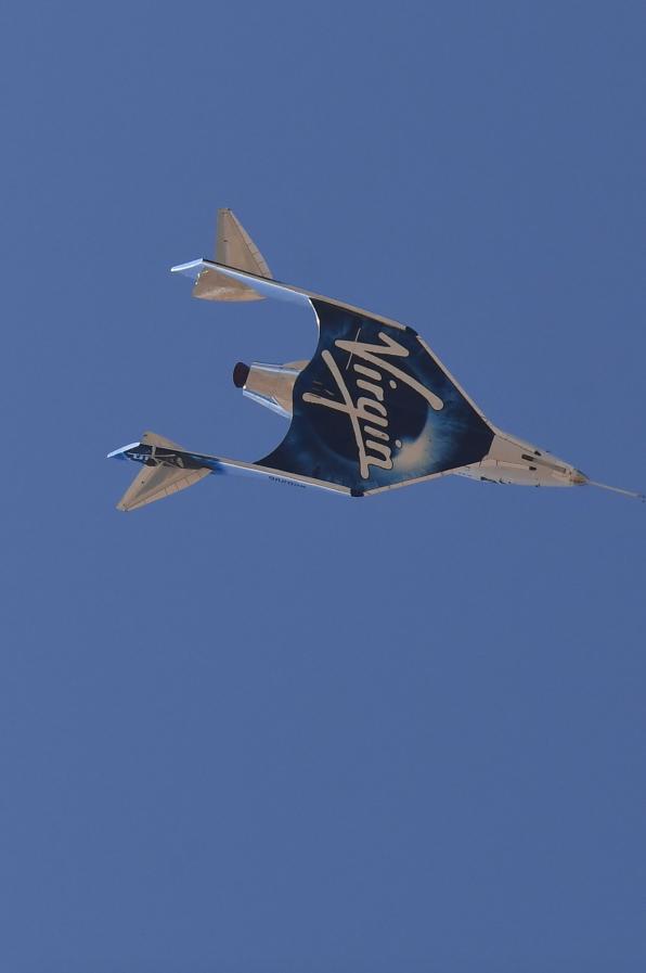 Ракетоплан Unity от компании Virgin Galactic. Фото AFP