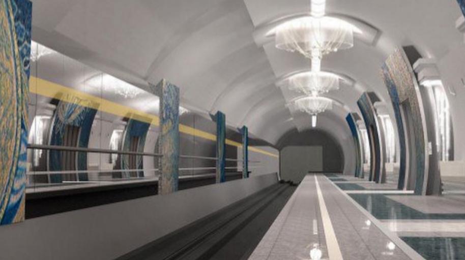 """Так будет выглядеть станция """"Театральная"""". Фото https://vk.com/podzemkavpeterburge"""
