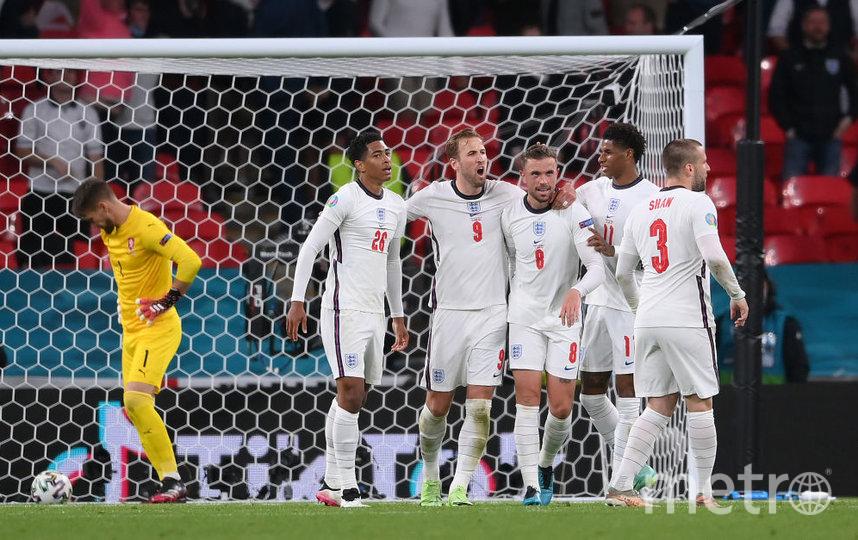 Сборная Англии уступила сборной Италии в послематчевых пенальти со счетом 2:3. Фото Getty