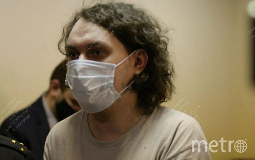 Хованский частично признал предъявленные ему обвинения. Фото Объединенная пресс-служба судов Петербурга.