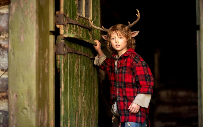 Sweet Tooth: Мальчик с оленьими рогами.