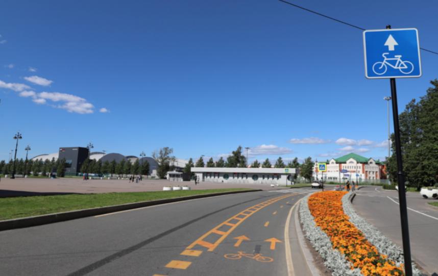 Протяженность дороги для велосипедистов планируют увеличить со 128 км до 300 км. Фото gov.spb.ru
