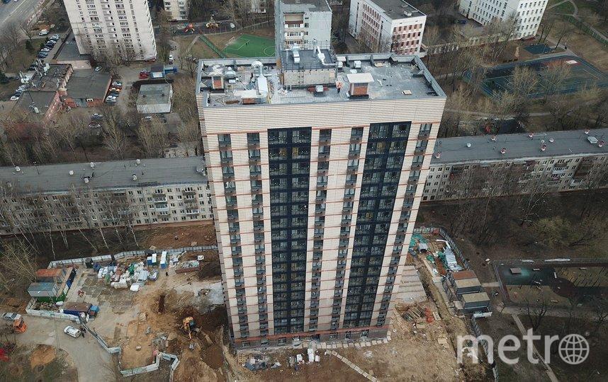 "Один из домов по программе реновации в районе Зюзино. Фото АГН ""Москва"""