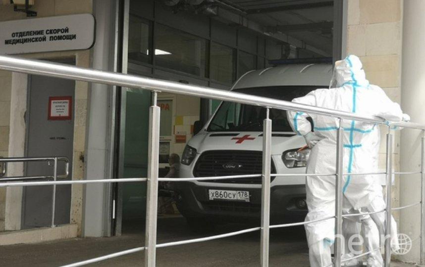 В отделениях Мариинской больницы будут лечить пациентов с отрицательным тестомна коронавирус. Фото vk.com/mariinru.