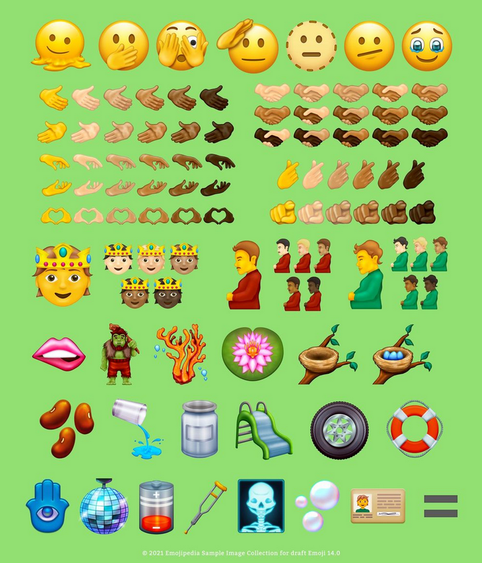 Скриншот Twitter @emojipedia.