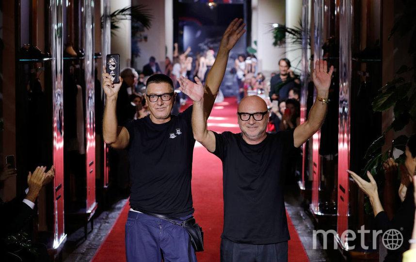Доменико Дольче и Стефано Габбана. Фото Getty
