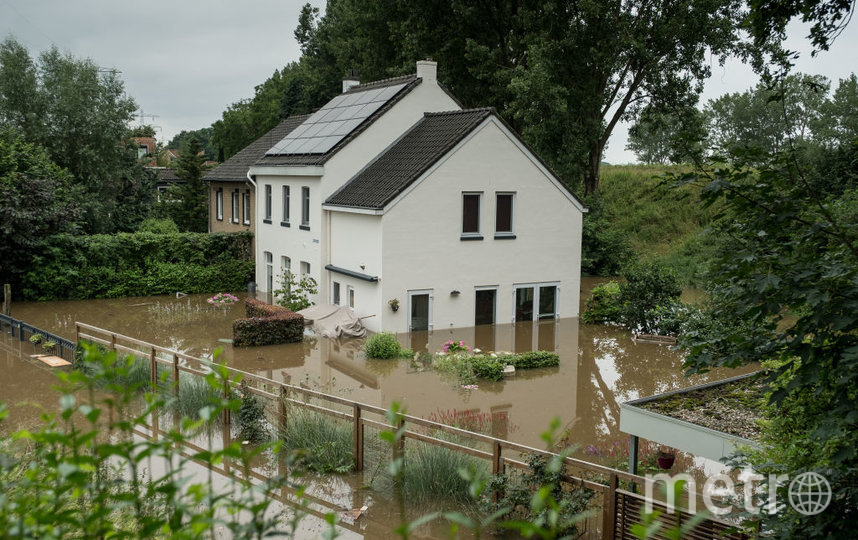 Наводнение в Нидерландах. Фото Getty