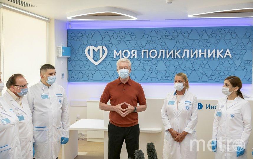Столичные поликлиники становятся современнее и удобнее (архивное фото). Фото Владимир Новиков, пресс-служба мэра и правительства Москвы