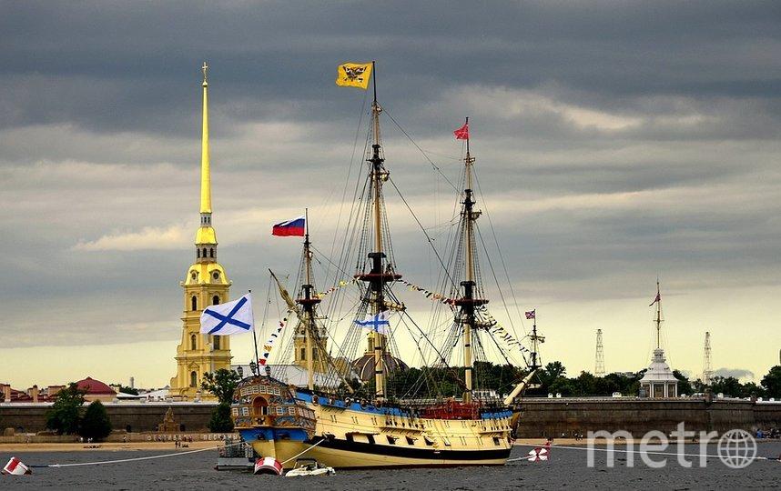 Территория пляжа у Петропавловской крепости будет закрыта в день ВМФ. Фото Pixabay