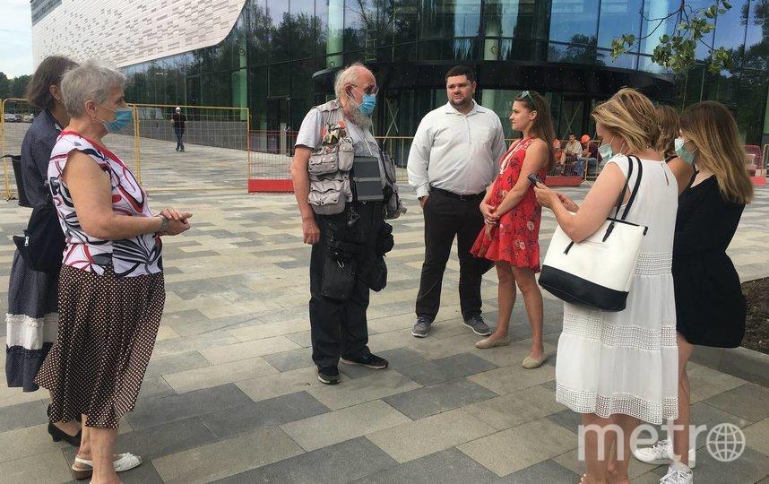 Анатолий Вассерман на встрече с жителями ВАО. Фото Алена Куренова