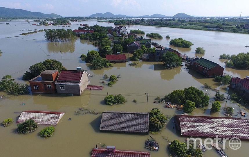 Провинция Хэнань, июль 2021. Фото Getty