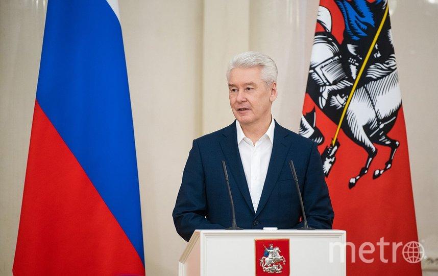 Сергей Собянин. Фото Максим Мишин, пресс-служба мэра и правительства Москвы