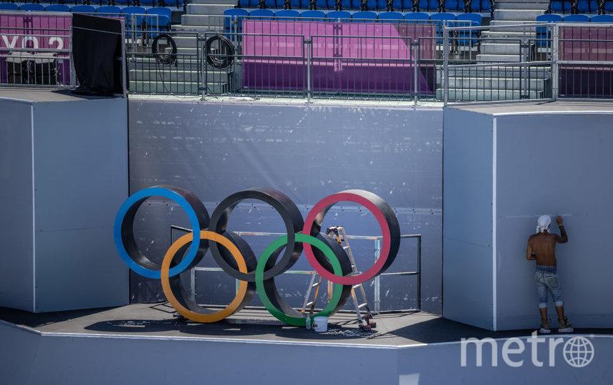 Подготовка к Олимпиаде в Токио. Фото Getty