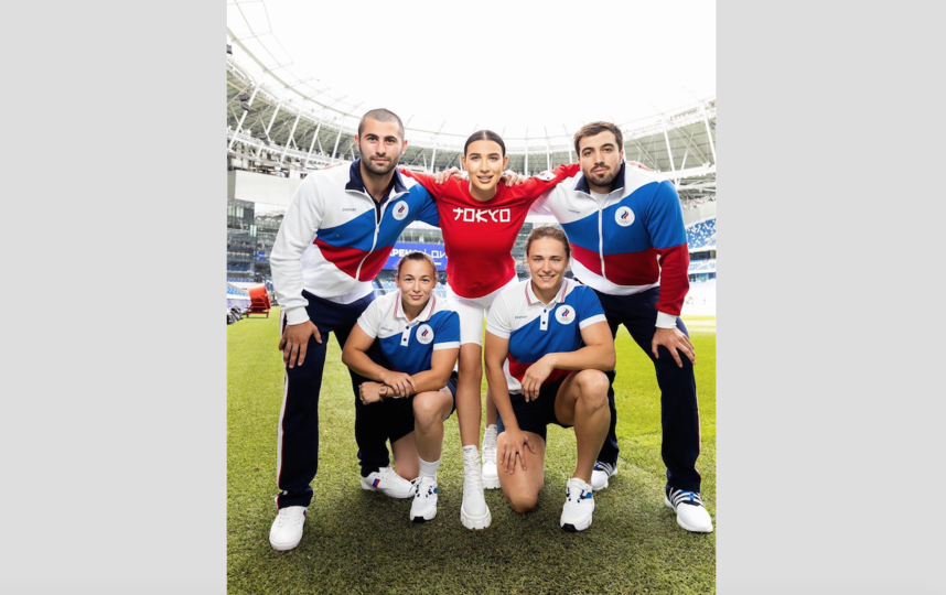 Форма российской сборной. Фото Instagram: @zasport