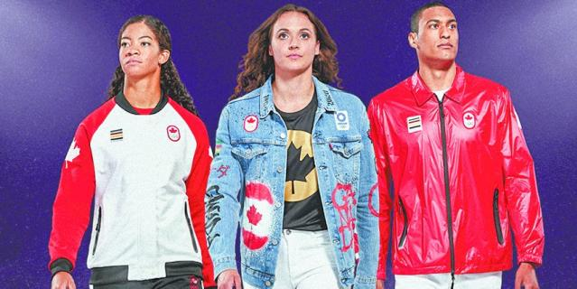 Форма сборной Канады.