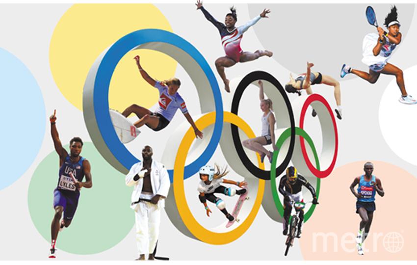 Спортсмены, которые будут выступать в Токио. Фото Getty