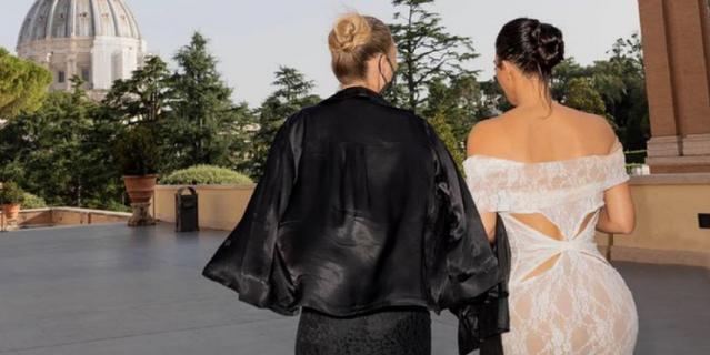 Кейт Мосс и Ким Кардашьян.