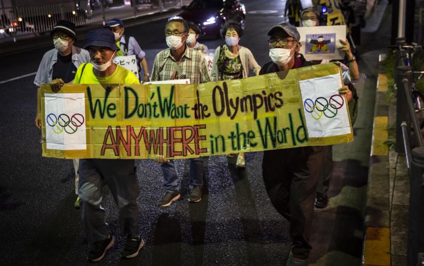 Жители Токио перед летней Олимпиадой: Мы не готовы