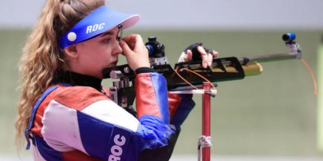 Анастасия Галашина завоевала первую медаль для российской сборной.