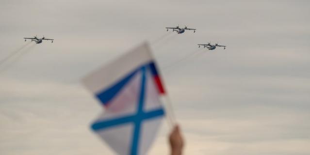 Главный военно-морской парад, 2021.