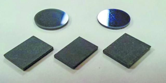 Модельные образцы изделий из нанопорошков.