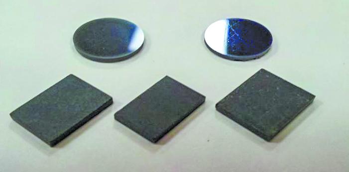 Модельные образцы изделий из нанопорошков. Фото Коллектив НОИЦ