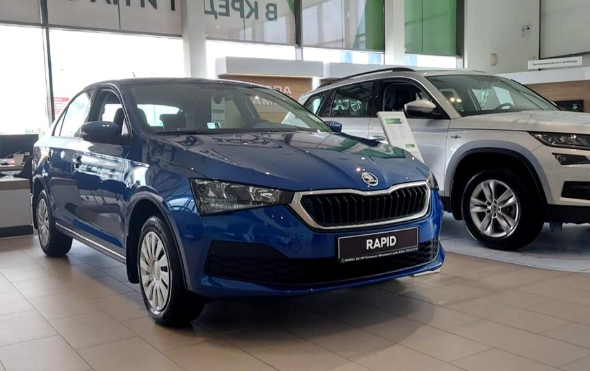 SKODA RAPID остался на позиции самого продаваемого автомобиля. Фото Предоставлено организаторами