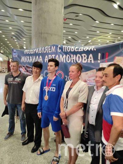 Спортсмен вернулся в Петербург. Фото предоставлено Ириной Петровой
